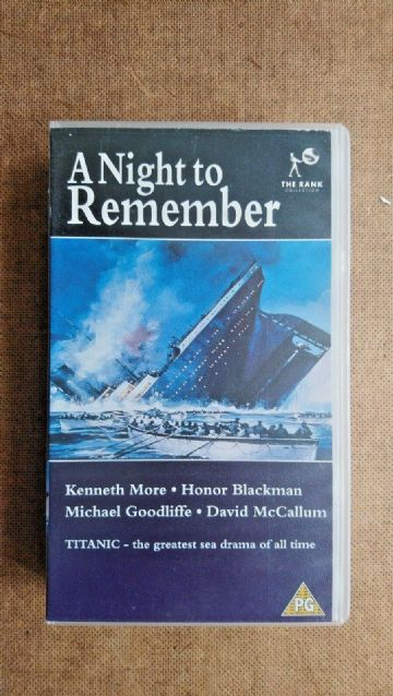 A Night To Remember (VHS, 1992)